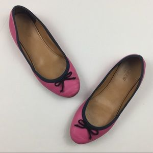 J.CREW Classic Ballet Flats in Pink and Blue